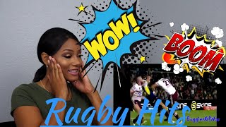 Clueless new American rugby Fan Reacts to Rugby - Hits Till I Collapse