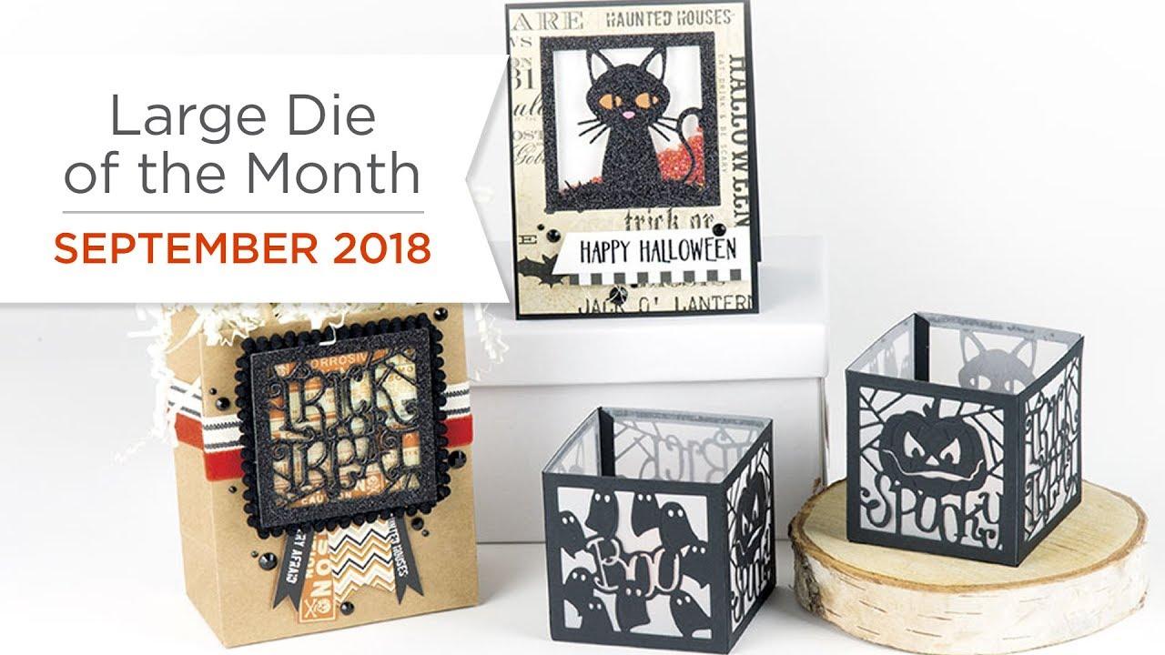 Spellbinders Large Die of the Month September 2018