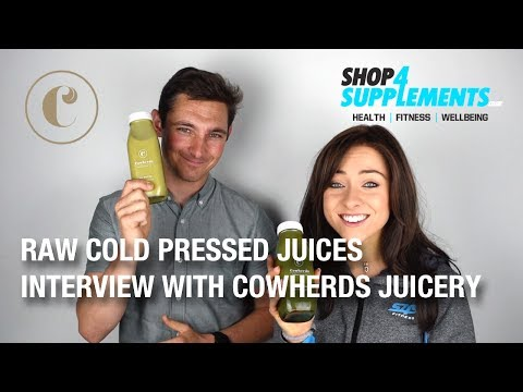 Cowherds Raw Cold Pressed Juices | Interview | Shop4supplements