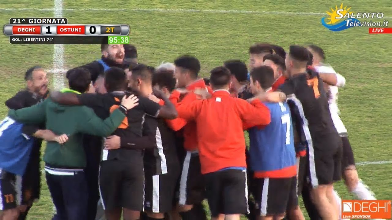 2fa4d0de0 Video: Deghi Calcio vs Ostuni 1-0 gol 74' Libertini (rig.), Salento  Television Live ! Gli Eventi in giro per il Sud Italia !