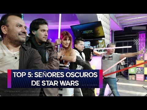 Top 5: Señores Oscuros de Star Wars | Arte Geek