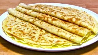 Pfannkuchen-Teig Rezept-Eierkuchen-Crepes-Pfannkuchen selber machen