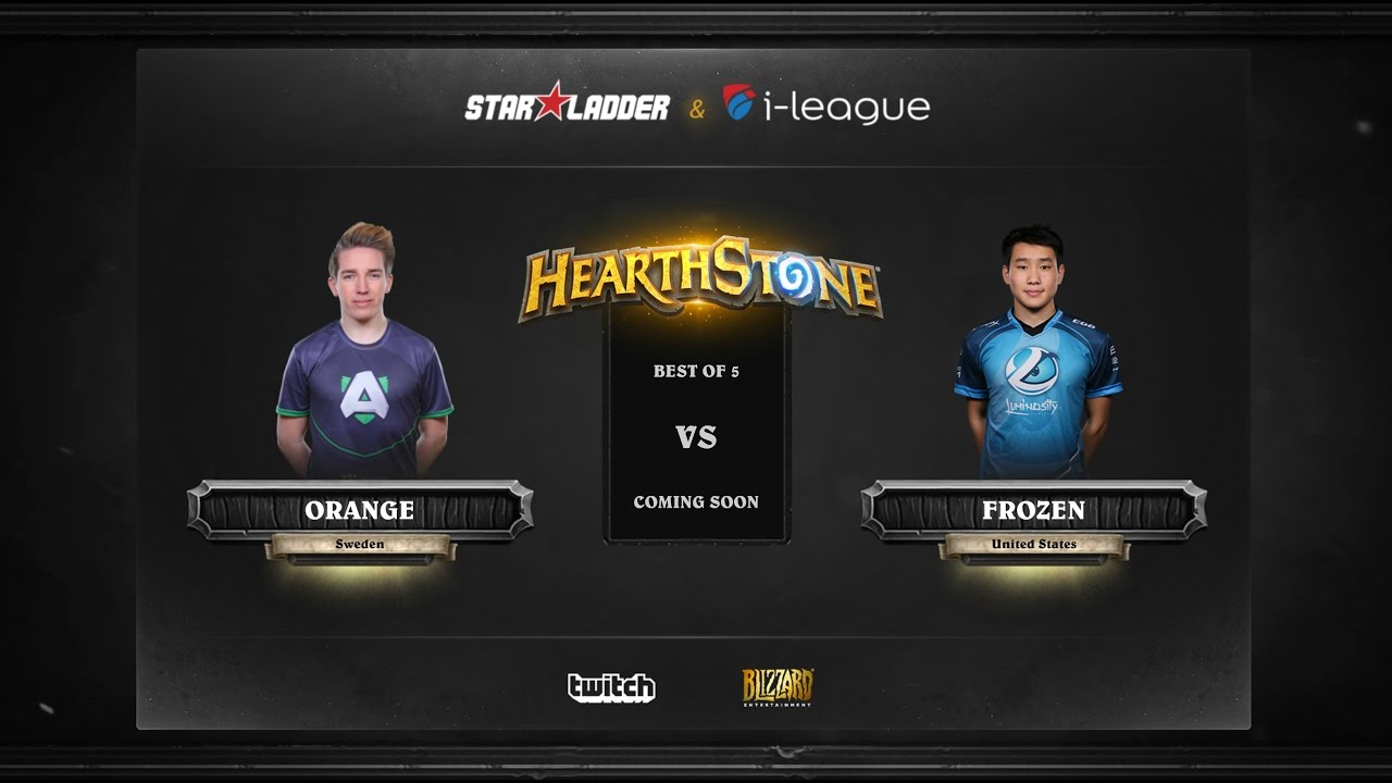 [EN] Orange vs Fr0zen | SL i-League Hearthstone StarSeries Season 3 (22.05.2017)