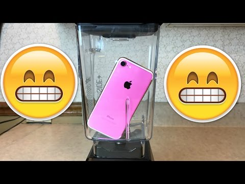 Can You Really Blend a iPhone 7? Don't drop your Apple iPhone 7 in a BLENDER! WILL IT BLEND?