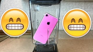 how to make apple juice with an iphone 7 don t drop your iphone 7 in a blender will it blend