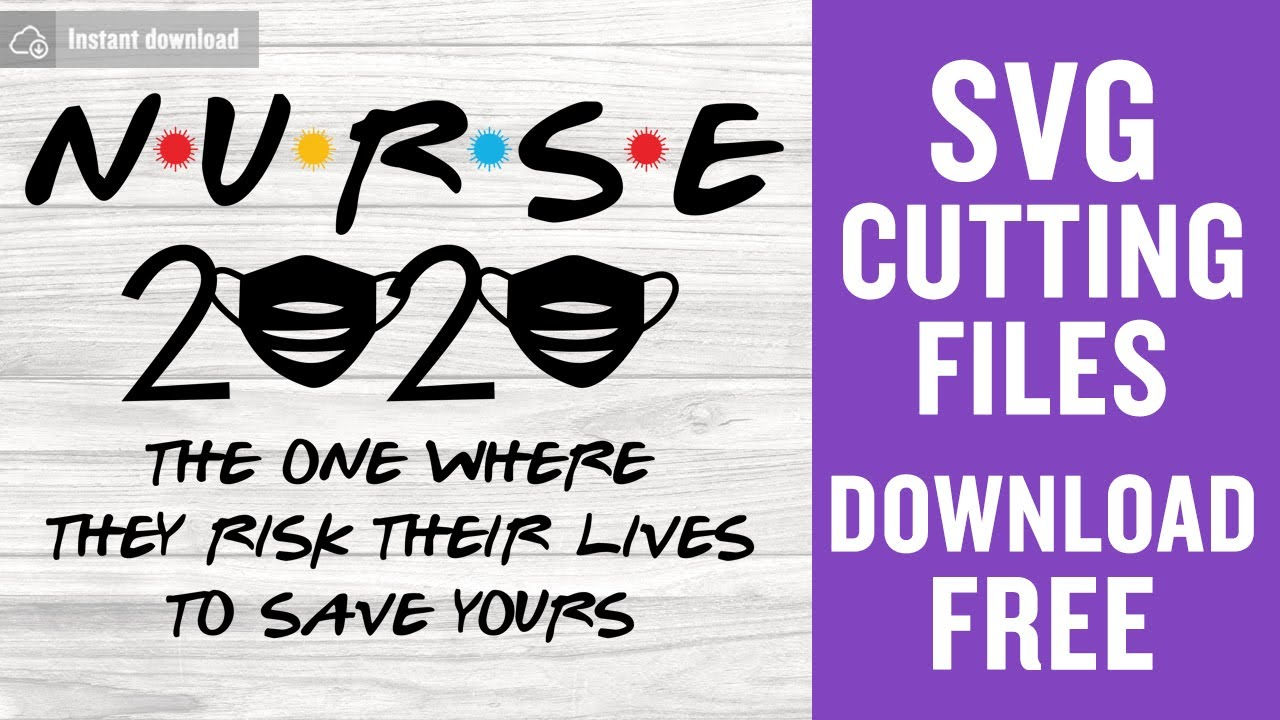 Nurse 2020 Svg Free Cut Files For Silhouette Cameo Free Download Youtube