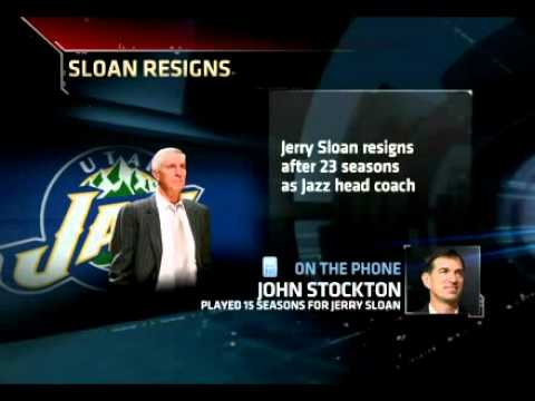 John Stockton On Jerry Sloan