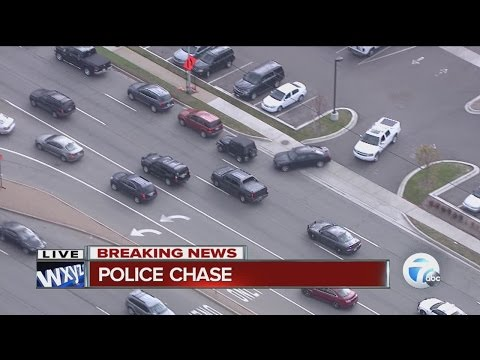 Police Chase Ends In Troy