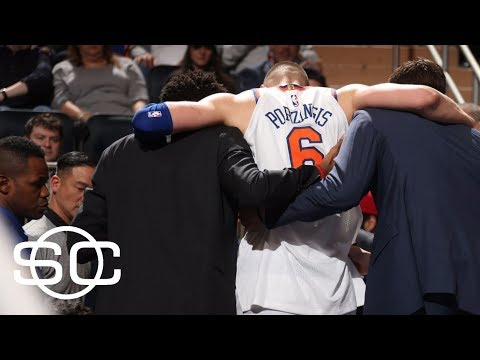The circus that is the Knicks following the injury to Kristaps Porzingis | SportsCenter | ESPN