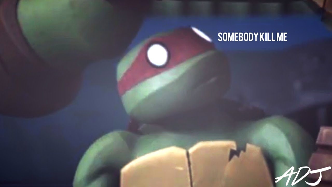 TMNT 2012 | Raphael saw what's under Mikey's shell