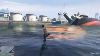 GTA 5 Mods #9 - Khinh Công Trên Mặt Nước (The Flash Mod)