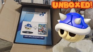 RARE Mario Kart 8 Limited Edition Blue Shell Unboxing