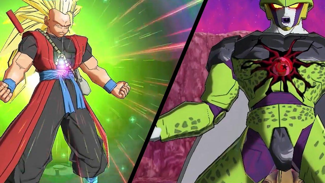 Super Dragon Ball Heroes Gameplay Xeno Goku Cell X Golden Frieza Towa Mira Xeno Bardock