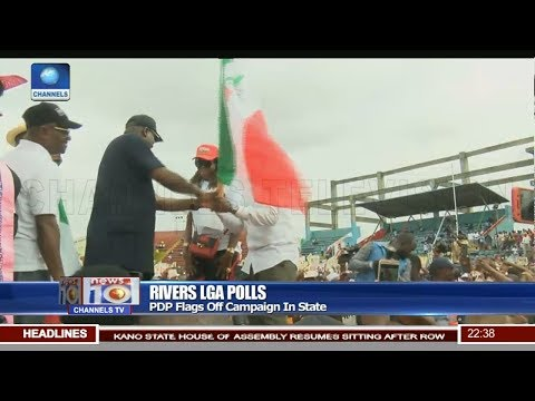 PDP Flags Off LGA Campaign In Rivers State