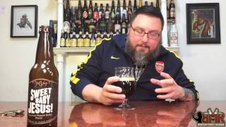 Massive Beer Reviews # 187 Duclaw Sweet Baby Jesus Chocolate Peanut Butter Porter