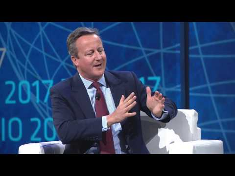 David Cameron Remarks on the 100,000 Genome Project at the 2017 BIO International Convention