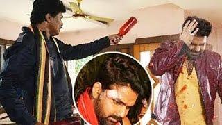 पवन सिंह पर हमला Pawan Singh in Trouble