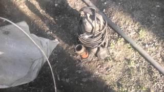 БЦН поверхневий насос в колодязі.