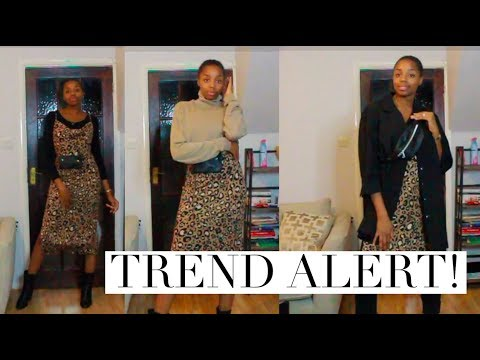 HOW TO STYLE: ANIMAL PRINT DRESS