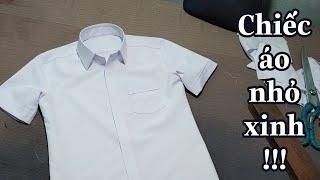 Download Lagu Chiếc Áo nhỏ xinh cho Em vào lớp 1 - Sew a baby boy shirt   Np Tailor mp3