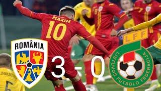 România --- Lituania ! Rezumat