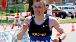 Rozmowa z Przemys�awem D�browskim po XXI P�maratonie Kurpiowskim