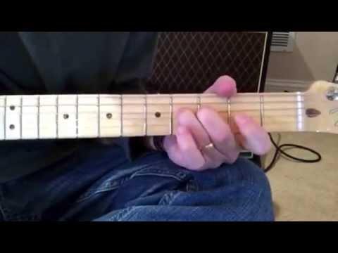 Bartender guitar solo tutorial (Lady Antebellum)