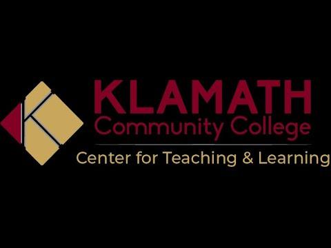 Klamath Community College -  Early Alerts