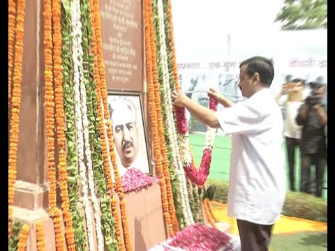 CM @ArvindKejriwal pays tribute to Delhi's first CM Chaudhary Brahm Prakash.