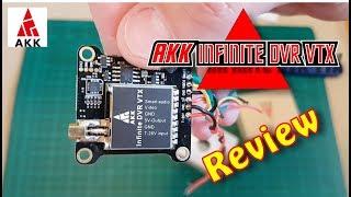 AKK Infinite DVR VTX review