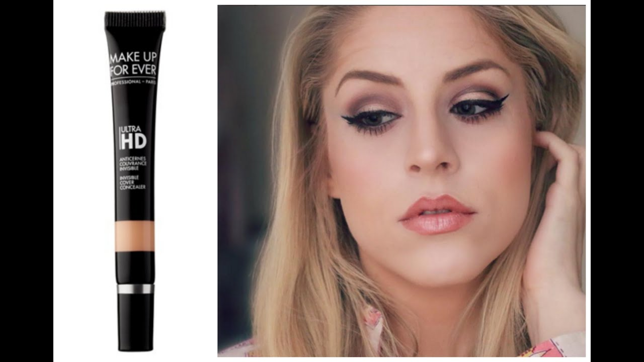 review demo make up for ever ultra hd concealer