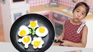 계란을 이쁘게 프라이 하는 방법? 서은이의 계란 후라이…