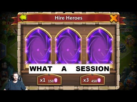 Best Rolling Session You've EVER SEEN ONETIMEEEEEEEE Castle Clash