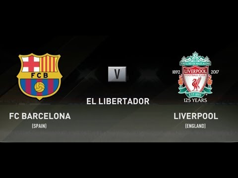 FIFA 18 BARCELONA VS LIVERPOOL XBOX ONE S PS4 FULL FOOTBALL MATCH GAMEPLAY BEST GOALS