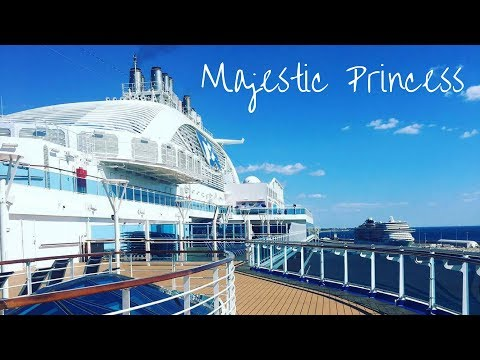 SHIP LIFE - A day onboard the Majestic Princess ♡ | ThatSuthersKid