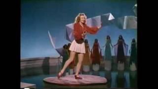 Vera Ellen Tap Dancing on her Toes