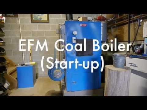 EFM Coal Boiler Start-Up