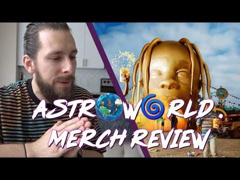 Reviewing Travis Scott AstroWorld Merch!