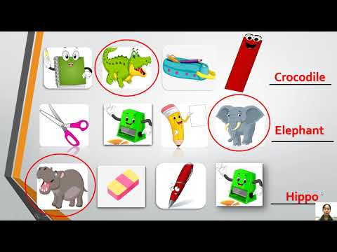 E-Learning   General English Program   Lesson 6   Zoo animals   Kindergarten  