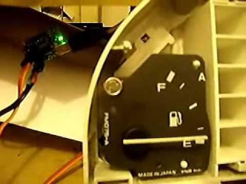 3eme test carte polulu jauge essence fonctionnelle youtube. Black Bedroom Furniture Sets. Home Design Ideas