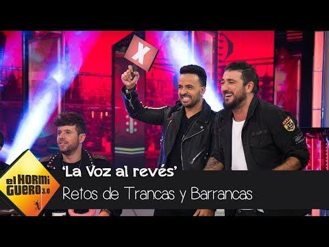 Luis Fonsi, Pablo López y Antonio Orozco juegan a 'La Voz al revés' - El Hormiguero 3.0