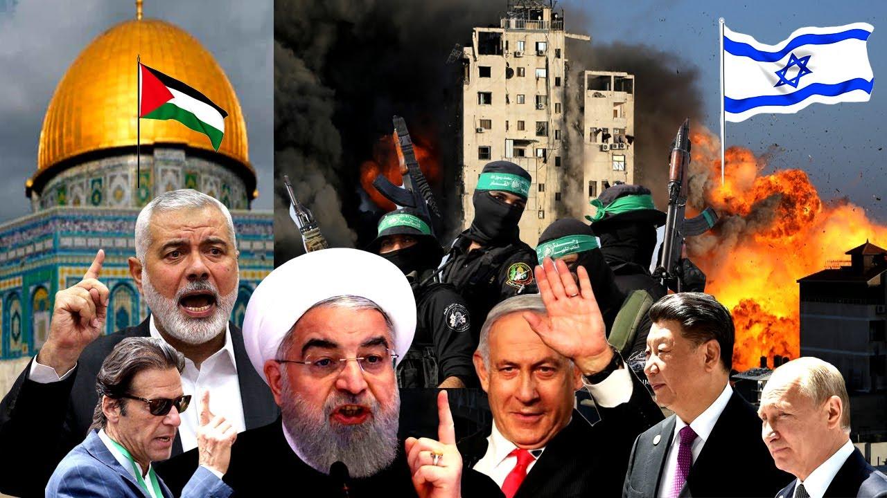 ইসরাইলকে বোমার জবাব বোমা দিয়েই দেয়া হবে! ইহুদি ইসরাইলের দিন শেষ  Hamas launches rocket attack Israel