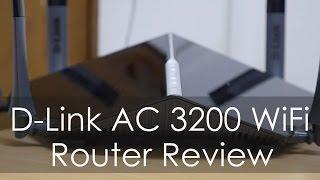 D-LINK AC3200 WiFi High Performance Router Review (DIR 890L)