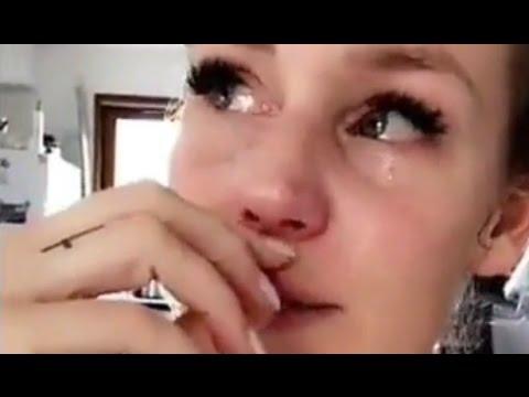 Aurélie Van Daelen en pleurs après son départ du Mad Mag !!
