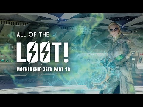 Mothership Zeta Part 10: All the Loot! Here's What You May Have Missed - Fallout 3