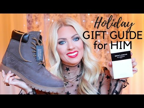 🎁 HOLIDAY GIFT GUIDE FOR HIM 🎁
