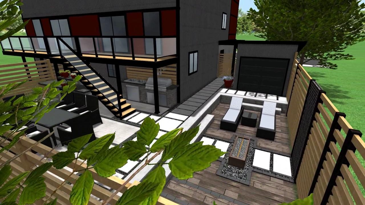 Expression Plan Design - Plan d\'aménagement extérieur - YouTube