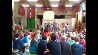 Trappenhuis school klas Tom 20130621 laatste forum schooljaar 2012-2013 part I