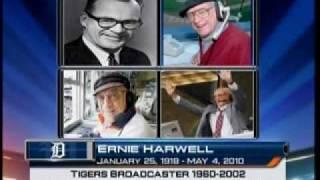 Ernie Harwell Comerica Park Flag Raising Ceremony