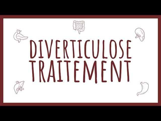 Sémiologie Chirurgicale - Traitement de la Diverticulose Colique
